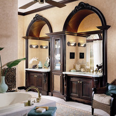 Traditional Bathroom by Wood-Mode Fine Custom Cabinetry