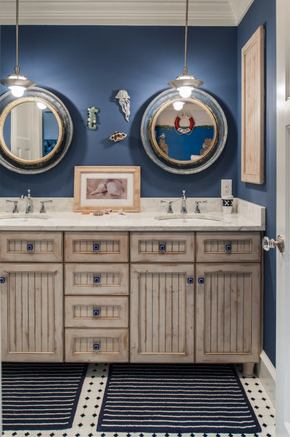 Traditional Bathroom by Town & Country Kitchen and Bath