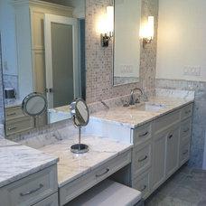 Modern Bathroom by Kitchen Technology