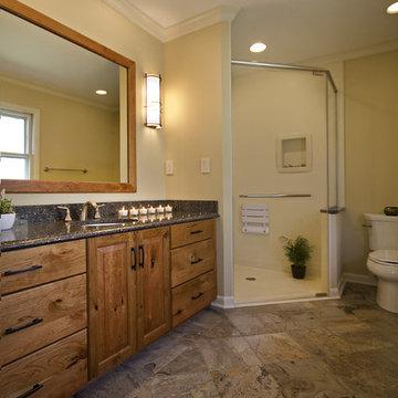 Beautiful Craftsman Style Master Bathroom