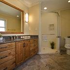 Cream Colored Bathroom Traditional Bathroom Boston