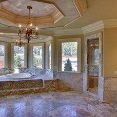 Mediterranean Bathroom by Atlantic Construction & Remodeling