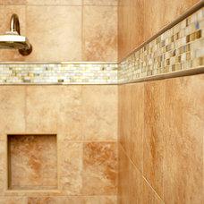 Mediterranean Bathroom by S&W Kitchens