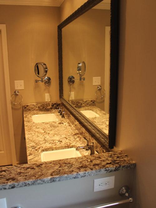 Salles de bains et wc romantiques de couleur bois photos for Salle bain romantique