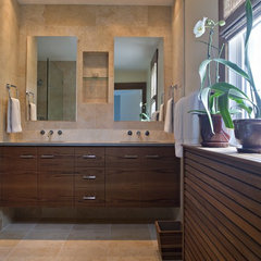 contemporary bathroom by Four Brothers LLC