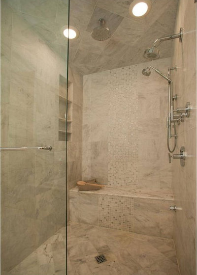 Transitional Bathroom by T.R. Builder, Inc.