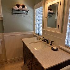 Traditional Bathroom by Roloff Construction, Inc