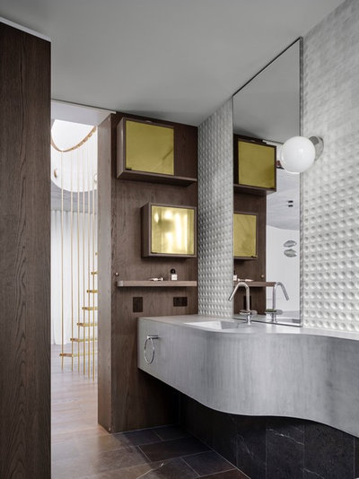 Contemporary Bathroom by Alwill Interiors