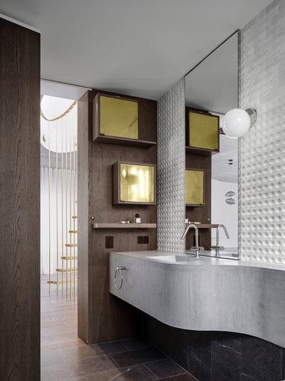 Современный Ванная комната by Alwill Interiors
