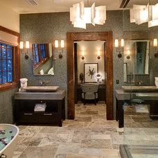 Contemporary Bathroom by Cohen Construction Inc.
