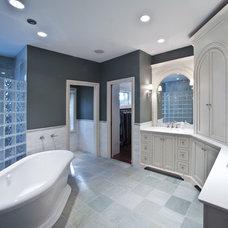 Eclectic Bathroom by Barenz Builders