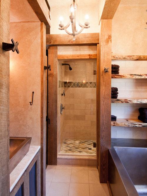 Rustic Ponds Bathroom Design Ideas Renovations Photos