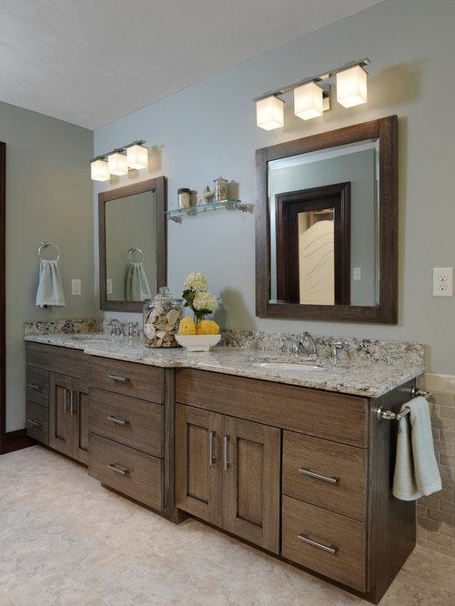 badezimmer mit freistehender badewanne und vinyl boden ideen f r die badgestaltung. Black Bedroom Furniture Sets. Home Design Ideas