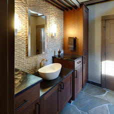 Transitional Bathroom by C&R Remodeling