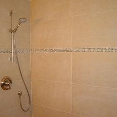 Modern Bathroom by Advantage Services Construction