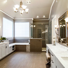 Transitional Bathroom by Hatfield Builders & Remodelers