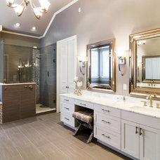 Transitional Bathroom by Hatfield Builders & Remodelers