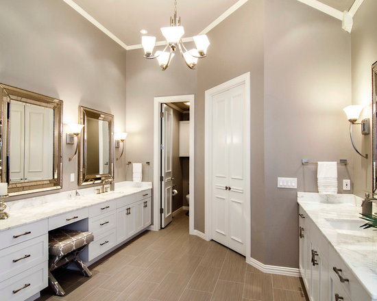 45672 grey and beige tones bathroom design photos