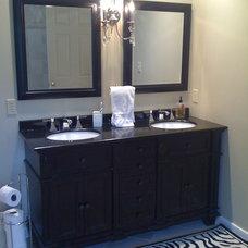 Traditional Bathroom by Becky Seidenberg