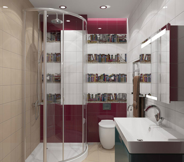 Traditional Bathroom by Lisa Laliberte-Alle