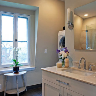 Bathroom - traditional bathroom idea in Boston
