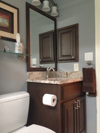 Traditional Bathroom by Jameson Interiors, Inc.