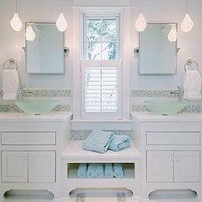 Contemporary Bathroom by Amanda Greaves & Company