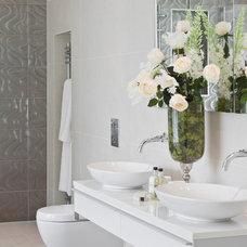 Modern Bathroom by Alexander James Interiors