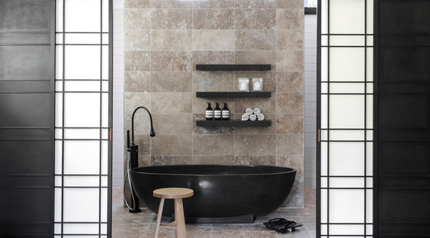 Contemporary Bathroom by D'Cruz Design Group Sydney Interior Designers