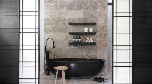 Modern Badezimmer by D'Cruz Design Group Sydney Interior Designers
