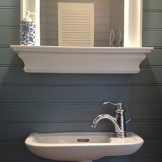 Traditional Bathroom Before and After: Renovation of a Small Bathroom
