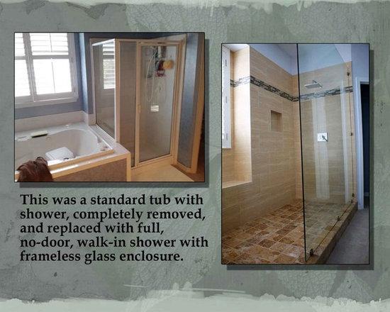 SaveEmailTub To Shower Conversion   Houzz. Convert Tub To Walk In Shower. Home Design Ideas