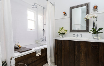 Old Hollywood Style for a Newly Redone Los Angeles Bath