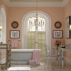 Traditional Bathroom by LKS Creative