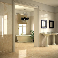 Traditional Bathroom by Geologica Store