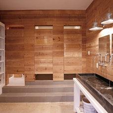 Contemporary Bathroom by Barbara Brown Photography