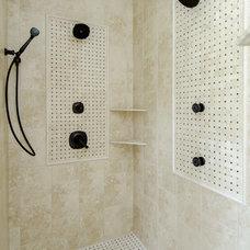 Eclectic Bathroom by Bella Homes