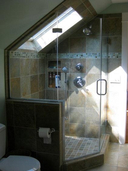 Traditional Bathroom by BellaDomus Residential Design Studio