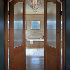 Contemporary Bathroom by Audrey Drought Design