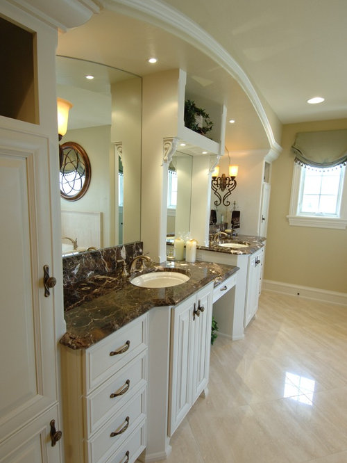 Painted Bathroom Cabinets | Houzz
