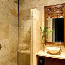 Tropical Bathroom by Soul Space