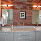 Queens lane compound rustic bathroom salt lake city for Bath remodel salt lake city