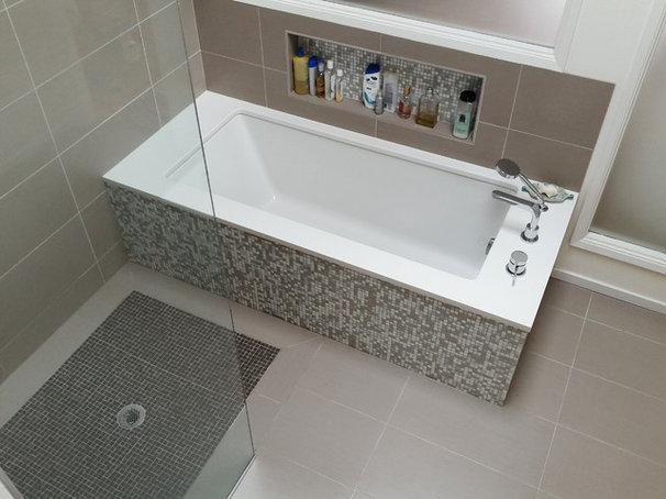 Modern Bathroom by Yarbro Home Improvement LLC