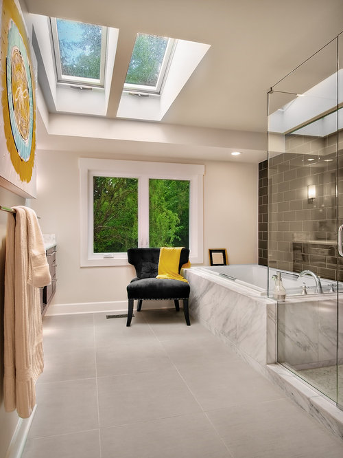 Modern Master Bathroom | Houzz