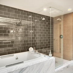 contemporary bathroom by RW Anderson Homes
