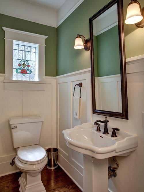 Wainscoting bathroom houzz for Houzz bathroom photos