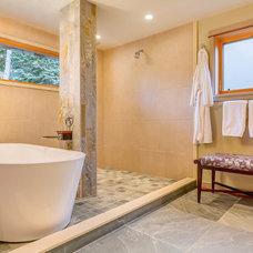Contemporary Bathroom by Bristol Design and Construction LLC