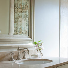 Traditional Bathroom by Marianne Simon Design