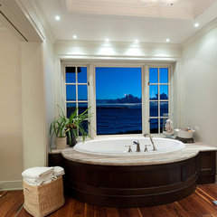 contemporary bathroom Bellevue Waterfront