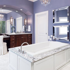 Vanity Tops And Side Splashes by House of Stone, Inc.